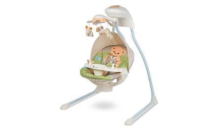 Kinderkraft Large Teddy Bear Swing for Babies