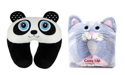 Animal Character Neck Pillows Groupon Goods