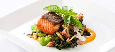 Three-Course Upscale Dinner with Wine for Two or Four at Restaurant at Applewood (Up to 45% Off)