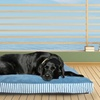 Striped Fiber-Filled Outdoor Pet Pillows