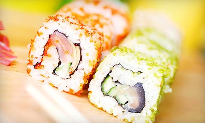Tsunami Sushi - Huntington Beach: $10 Worth of Sushi and Japanese Food