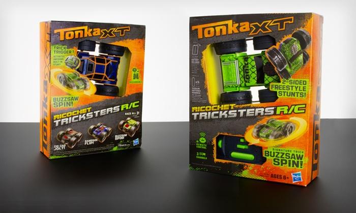 XT Ricochet Tricksters R/C Car: $12 for an XT Ricochet Tricksters Remote-Controlled Car ($24.99 List Price). Free Returns.