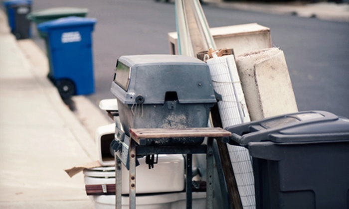Junk Guys of Houston - Austin: One-Third or One-Half Trailer's Worth of Junk Removal from Junk Guys of Houston (Up to 54% Off)