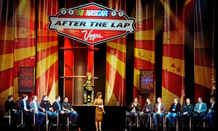 NASCAR After The Lap - The Strip: $10 to Attend NASCAR After The Lap Event at PH Live at Planet Hollywood on November 29 at 5 p.m. (Up to $20 Value)