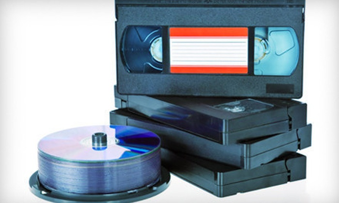 Interactive Video - Scottdale: $15 for Up to Four Hours of Tape-to-DVD Transfers from Interactive Video ($49.90 Value)