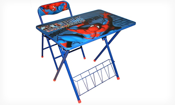 Spider Man Activity Desk And Chair Set Groupon
