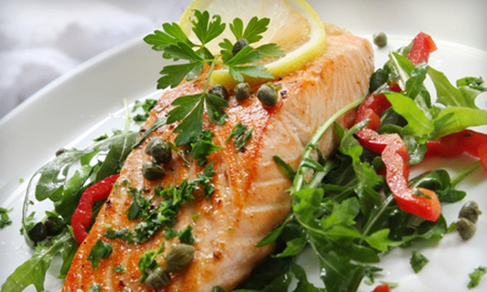 Jackson Fish Co. - Jackson: Upscale American Dinner at Jackson Fish Co. (Half Off). Two Options Available.