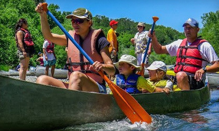 River's Edge Kayak & Canoe Trips - River's Edge Kayak & Canoe Trips: Half- or Full-Day Weekday or Weekend River Trip from River's Edge Kayak & Canoe Trips (Up to 51% Off)