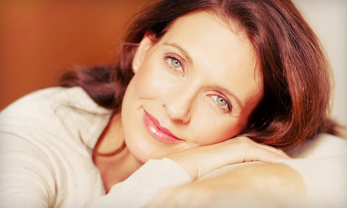 Blue Lotus Integrative Healing Arts - Santa Fe: One or Two Nonsurgical Microcurrent Face-Lifts at Blue Lotus Integrative Healing Arts (Up to 55% Off)