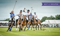 Ticket to Warwickshire Cup, 25 June, or County Cup, 19 August at Cirencester Park Polo Club (Up to 57% Off)