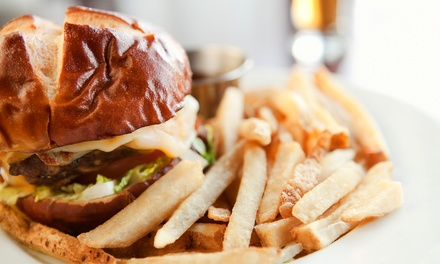 Pub Meal for Two or Four at Mezzanine Sports Bar & Lounge (Up to 49% Off)
