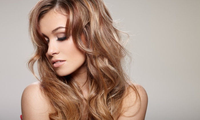 Lawley Ray at Jagged Edge Salon & Day Spa - Summerlin: Haircare Packages from Lawley Ray at Jagged Edge Salon & Day Spa (Up to 71% Off). Five Options Available.
