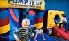 Pump It Up - Multiple Locations: $11 for Three Pop-In Playtime Sessions at Pump It Up ($24 Value)