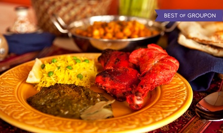 Buffet Lunch or Indian Dinner for Two or Four at Taj Mahal Restaurant (Up to 45% Off)
