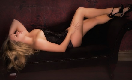 Boudoir Photo Shoot with Image CD and Six or Eight Prints at Intimate Photography (Up to 72% Off)