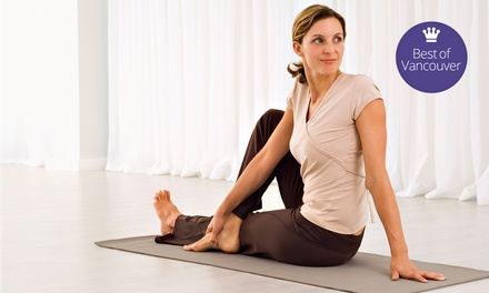 $49 for 10 Yoga Classes at Semperviva Yoga ($139 Value)