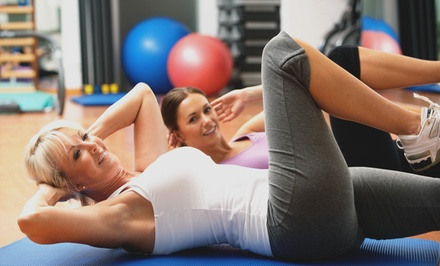 1-, 3-, or 5-Month Unlimited Membership to Foxy's Fitness Center (Up to 50% Off)