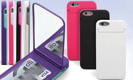 Aduro U-Stash Reflection Storage Case with Mirror for iPhone 5/5s, 6, or 6 Plus from $7.99–$9.99