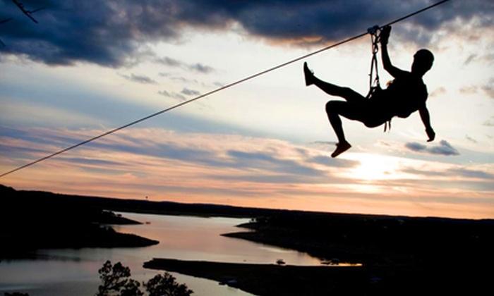 Lake Travis Zipline Adventures - Austin: $69 for a Zipline Tour from Lake Travis Zipline Adventures (a $101.89 Value)