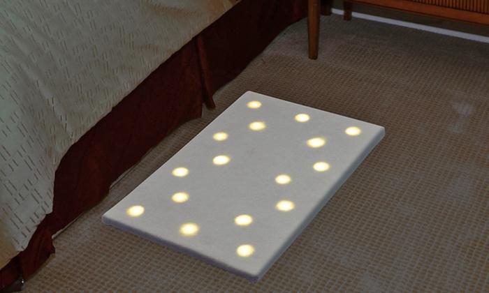 16-LED Soft-Light Illumination Floor Mat: $20.99 for a 16-LED Soft-Light Illumination Floor Mat ($35.73 List Price). Free Shipping and Returns.