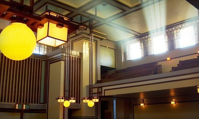 Frank Lloyd Wright's Unity Temple - Oak Park: Self-Guided Architectural Tour for Two or Four at Frank Lloyd Wright's Unity Temple in Oak Park (Up to 55% Off)