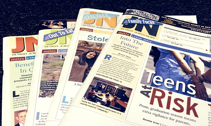 "The Jewish News - Southfield: One- or Three-Year Subscription to ""Detroit Jewish News"" (Up to 51% Off)"