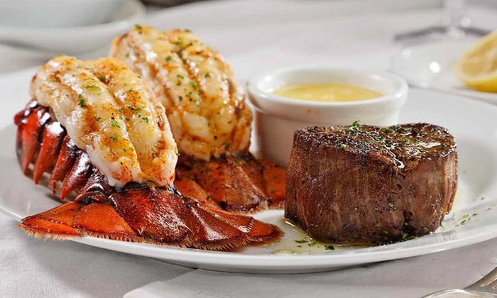 Ruth's Chris Steak House - Niagara Falls: $35 for $70 Worth of Prime Steak and New Orleans–Inspired Cuisine for Two or More at Ruth's Chris Steak House