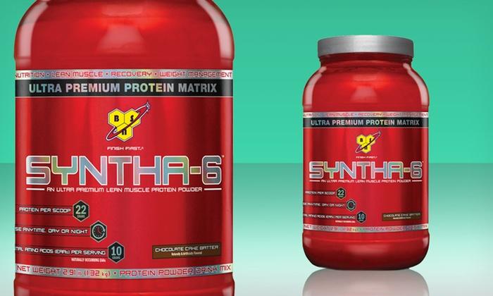 Bsn Syntha 6 Protein Powder Groupon Goods