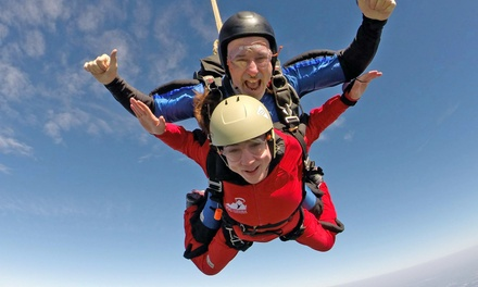 $175 for a Tandem Skydive at Virginia Skydiving Center ($249 Value)