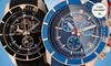 Invicta Pro Diver Big Box: Men's Invicta Pro Diver Polyurethane-Strap Chronograph Watch in Black or Blue. Free Returns.