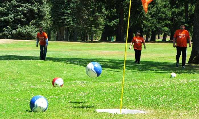 Fort Steilacoom - North Lakewood: 18 Holes of FootGolf for Two or Four at Fort Steilacoom Golf Course (Up to 50%Off)