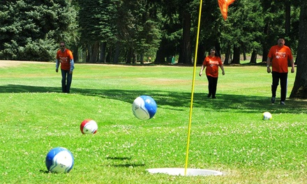 18 Holes of FootGolf for One, Two, or Four at Fort Steilacoom Golf Course (50% Off)