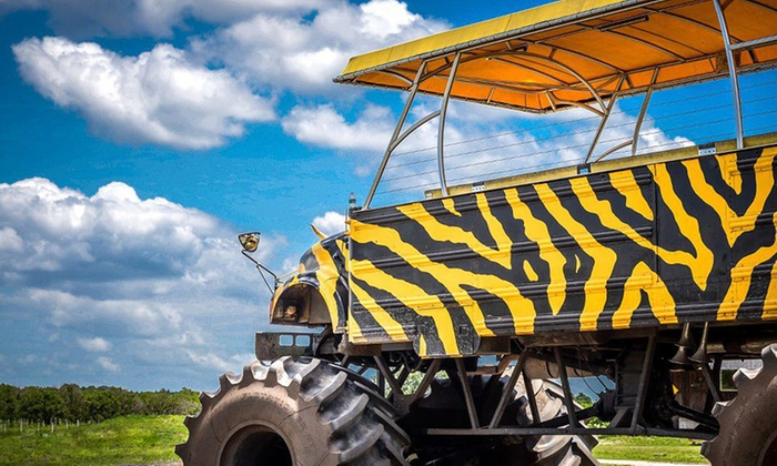 Showcase of Citrus - Clermont: Child or Adult Tickets for a Monster-Truck Eco-Safari Tour at Showcase of Citrus (Up to 53% Off). Five Options.