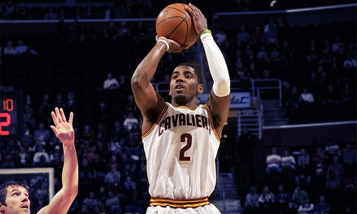 Cleveland Cavaliers - Quicken Loans Arena: Cleveland Cavaliers Game at Quicken Loans Arena on April 10 or 12 (Up to 51% Off). Two Seating Options Available