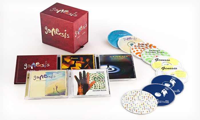 Genesis 1983–1998 Box Set: $54.99 for the Genesis 1983–1998 10-Disc Box Set ($99.98 List Price). Free Shipping and Free Returns.
