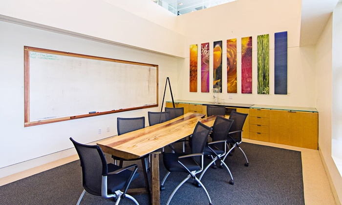 Satellite Telework Centers - Santa Monica: 1- or 2-Hour Conference-Room Rental or 1-Hour Event-Space Rental at Satellite Telework Centers (Up to 53% Off)