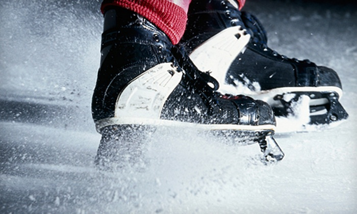 Arctic Edge Ice Arena - Northwest Oklahoma City: Ice Skating for Two or Five-Week Skating- or Hockey-Lesson Package with Skates at Arctic Edge Ice Arena (Up to 57% Off)