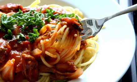 Italian Cuisine for Brunch, Lunch, or Dinner for Two or More at Cafe Mangia (Up to 46% Off)