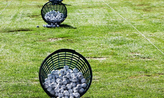 Bracken Golf Club - New Braunfels: Range Balls for the BYOB Driving Range at Bracken Golf (50% Off). Two Options Available.