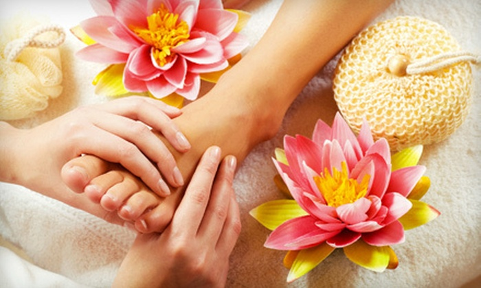 Healthy Life Foot Spa - Spring Valley: 60-Minute Foot-Reflexology Massage with Optional Hot-Stone Foot Massage at Healthy Life Foot Spa (Half Off)