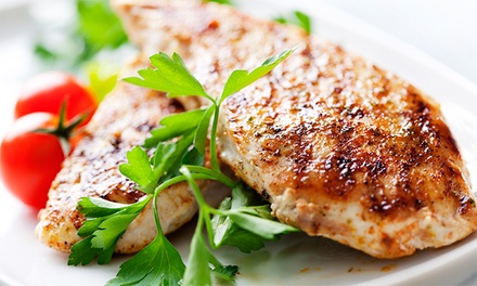 Five Healthy, Custom Chicken Dinners for One or Two at Swoul Food (Up to 54% Off)