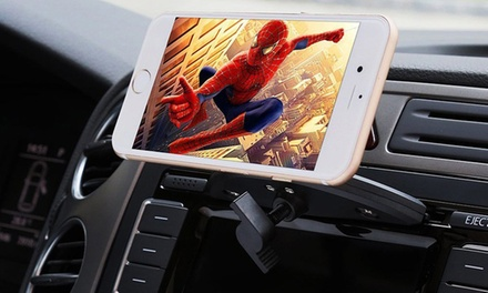 Smartphone Car CD Mount