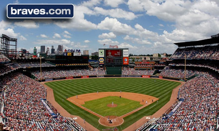 Atlanta Braves - Turner Field: Atlanta Braves Baseball Game at Turner Field (Up to Half Off). Seven Dates and Four Seating Options Available.