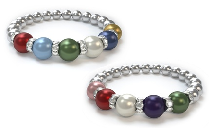 Swarovski Pearl Mother's Bracelet (Up to 47% Off)