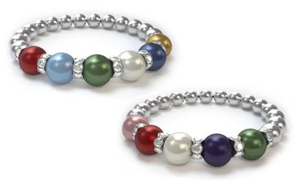 Swarovski Pearl Mother's Bracelet (Up to 47% Off)