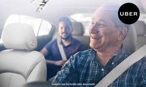 Uber: Uber: crédito de R$ 25 para primeira viagem (somente novos usuários)
