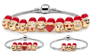 (Bijou) Bracelet Émoticônes Noël