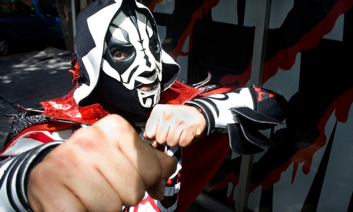 Art Whino Gallery - Navy Yard: Regular or VIP Admission to Mexican Wrestling and Cinco de Mayo Festival on May 4 from Art Whino (50% Off)