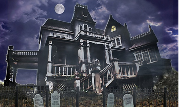 Haunted House in the Hollow and the Field of Fright - Upper Makefield: Two, Four, or Six Front-of-Line Passes to Haunted House and Field of Fright at Sleepy Hollow (Up to 55% Off)