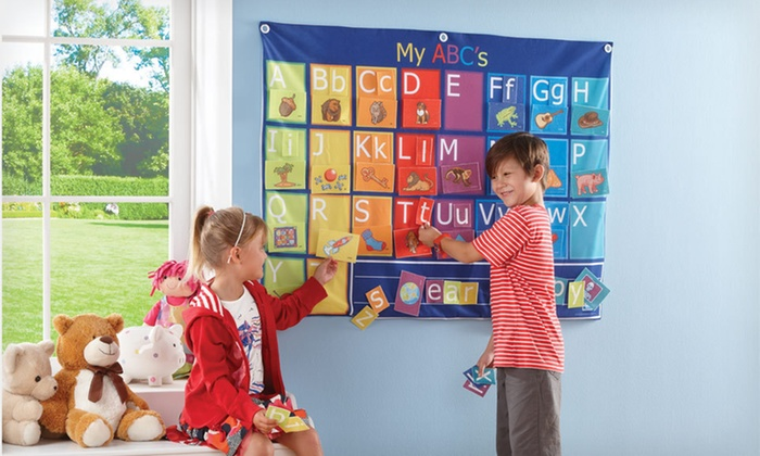 Discovery Kids Fabric Alphabet Set: $22 for a Discovery Kids Fabric Alphabet Play Set ($39.99 List Price). Free Shipping and Free Returns.
